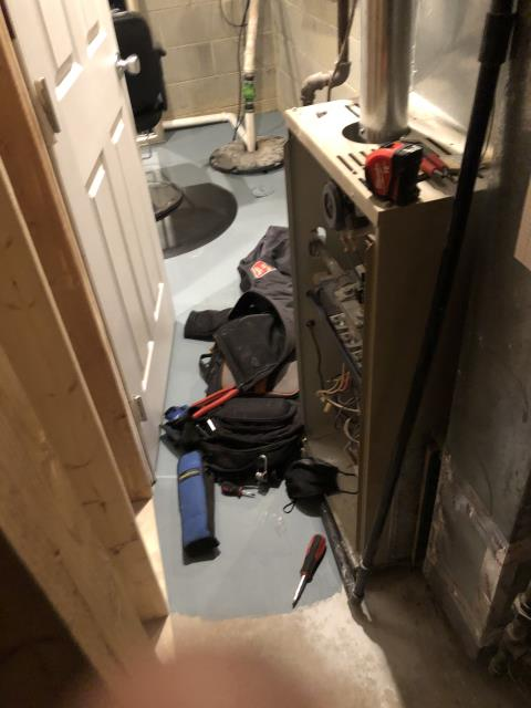 Westerville, OH - I completed a fall tune up on a Lennox  gas furnace.  I visually inspected the unit.  I cleaned the flame sensor.  Checked voltages, amps and pressures.  Completed combustion analysis.  Cycled and monitored system.  Operating normally at this time.