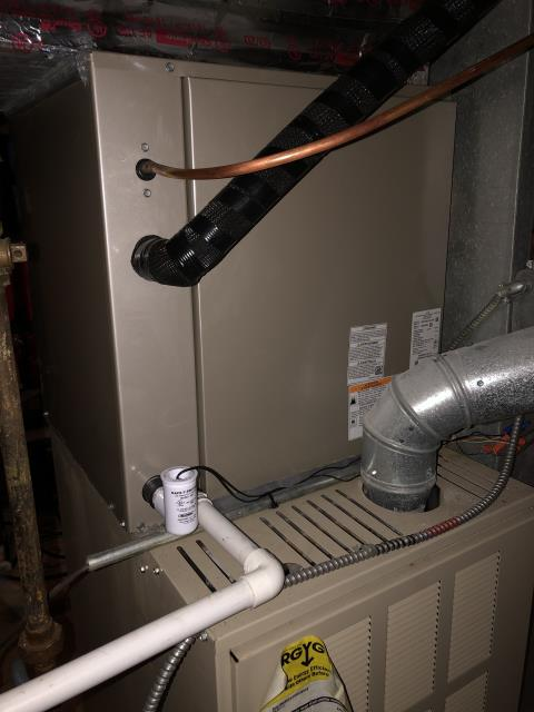 Lancaster, OH - I completed the service maintenance agreement tune up on a Ducane gas furnace.  I visually inspected the unit.  I cleaned the flame sensor.   Checked voltages, amps and pressures.  Completed combustion analysis.  Cycled and monitored system.  Operating normally at this time.