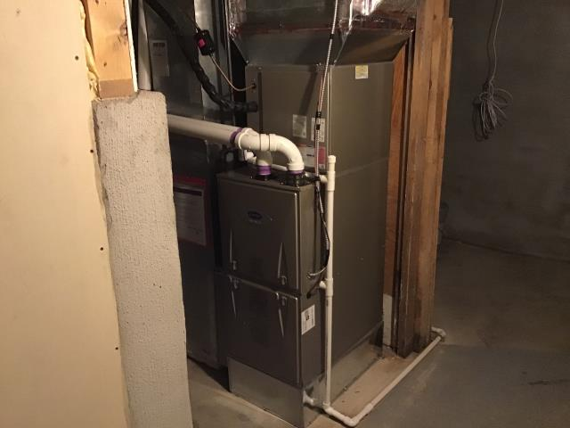 Delaware, OH - I completed the service maintenance agreement tune up on a Carrier gas furnace.  I visually inspected the unit.  I cleaned the flame sensor.   Checked voltages, amps and pressures.  Completed combustion analysis.  Cycled and monitored system.  Operating normally at this time.