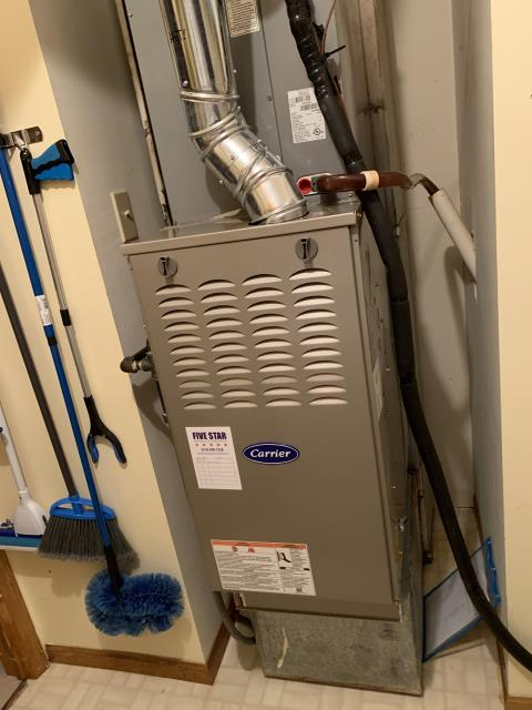 Delaware, OH - I found the ignitor needed to be replaced, as well as the blower motor would need replaced soon. I went over repair and replace options with they customer and they opted to replace the furnace to avoid future issues and repairs. System is not operational upon departure due to issues with ignitor.