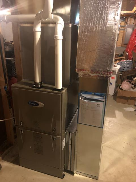 Bremen, OH - I performed a tune up on a Carrier gas furnace. Everything checked out within specs. System is operational upon departure.
