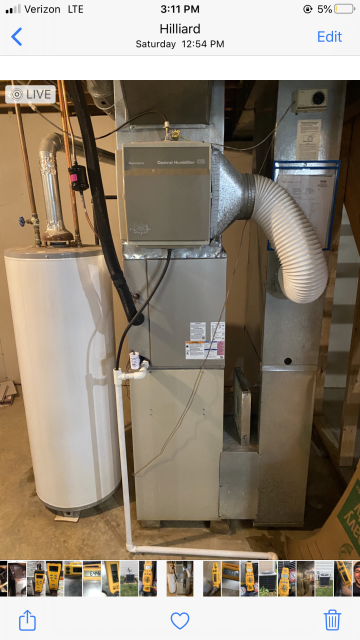 Hilliard, OH - I found the system to be operating within specs, but the system is working harder than it should. I went over options with the customer and I provided an estimate on a new system upon request. Customer wants to get a new system, but will talk with spouse first. System is operational upon departure.