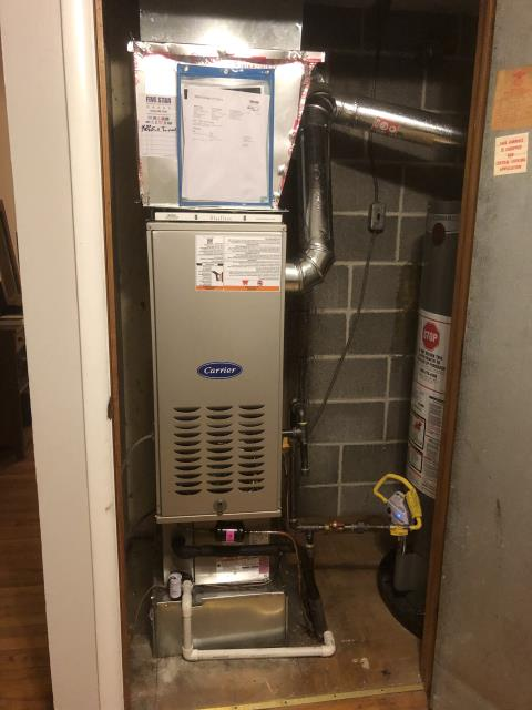 Lithopolis, OH - I performed a tune up on a Carrier gas furnace. Everything is performing within specs. System is operational upon departure.