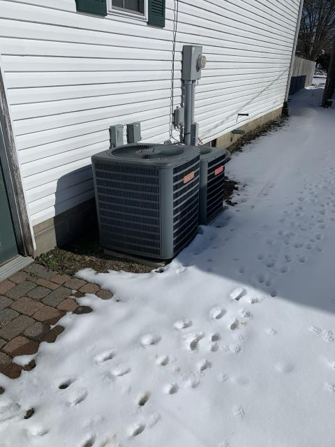 Thurston, OH - I found the ignitor in need of replacement. Customer approved replacement. I cycled system to ensure everything was working properly. System is operational upon departure.