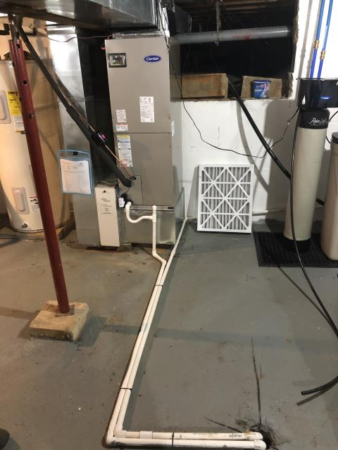 Amanda, OH - I completed fall tune up on a Five Star heat pump with an electric air handler.  I visually inspected the furnace.  Checked voltages, amps and temperature rise.  Inspected heat pump.  Checked voltages and amps.  Cycled and monitored both systems.  Operating normally at this time.
