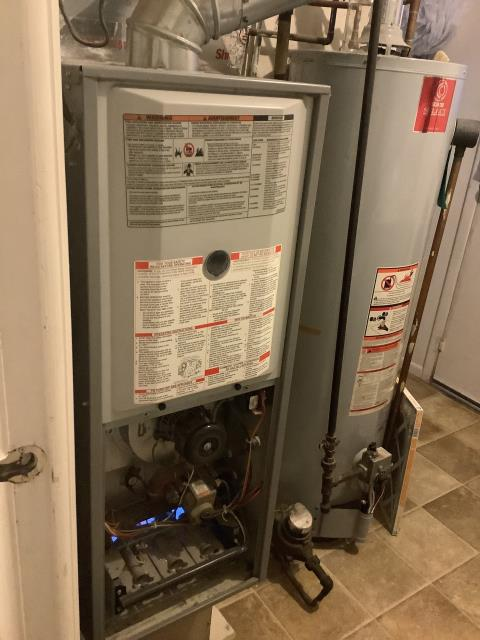 Gahanna, OH - I preformed Diagnostic and found unit in soft lockout due to no flame sensed. Reset unit and it fired up. I pulled and cleaned the flame. As of departure, unit is operating as expected.