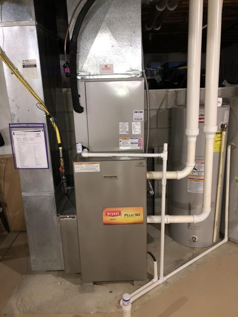 Blacklick, OH - Scheduled Maintenance for Bryant Gas Furnace
