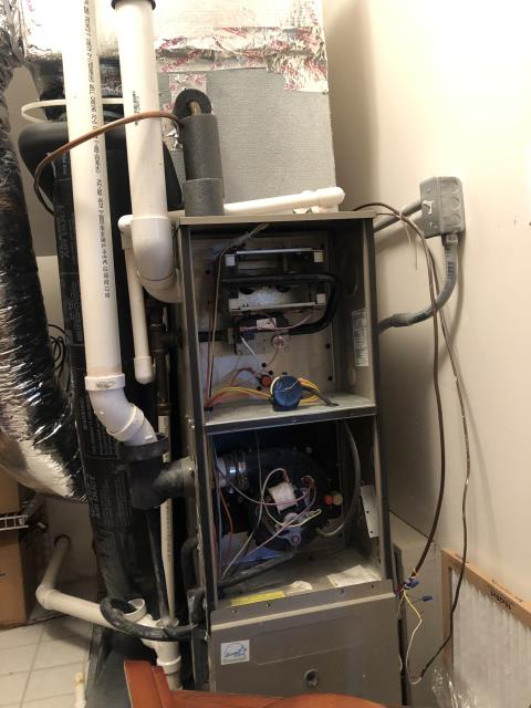 Canal Winchester, OH - I completed a diagnostic on a Lennox gas furnace.  Determined that there was a pressure switch error code.  This appears have been from the programming in the thermostat calling for cooling.  Cycled and monitored the system.  Operating normally at this time.