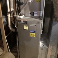 Blacklick, OH - I completed a diagnostic on a Carrier gas furnace.  Determined that the system was overheating due to a dirty filter.  I changed the filter which was provided by the client.  Cycled and monitored the system.  Operating normally at this time.
