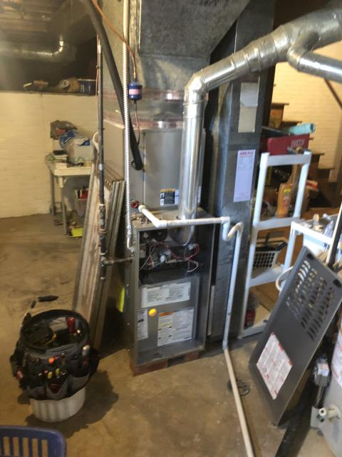 Reynoldsburg, OH - I completed a diagnostic on a Carrier gas furnace.  Determined that the blower motor is bad.  I gave the client an estimate to replace the blower motor.  Client authorized repair.  Part to be ordered.