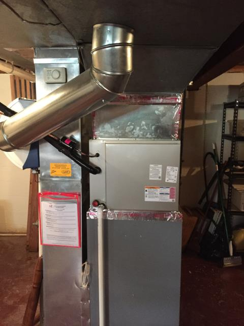 Reynoldsburg, OH - Return Service for a Comfortmaker gas furnace.  I replaced the inducer motor same day.  Cycled and monitored the system.  Operating normally at this time.