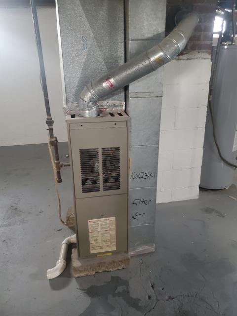 Columbus, OH - I completed a tune up on a Goodman gas furnace.  I visually inspected the unit.  I replaced the filter which was provided by the client.  Noted the blower is dusty.  I cleaned the flame sensor.  Still a little low.  Client did not want to replace at this time.  Checked voltages, amps and pressures.  Completed combustion analysis.  Cycled and monitored system.  Operating normally at this time.
