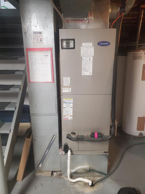 Columbus, OH - Upon inspection, I found the furnace and heat pump were fully operational. I took time to talk with the customer to help them fully understand their new system and how to help it run at the highest efficiency.