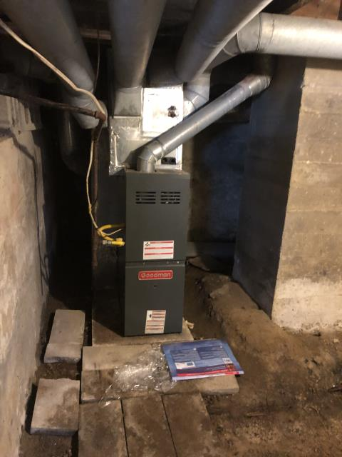 Johnstown, OH - Upon inspection, I found the inducer motor non functioning. I informed the customer and reviewed repair and replace options with them. Customer has opted to replace system at this time. System is not operational upon departure.