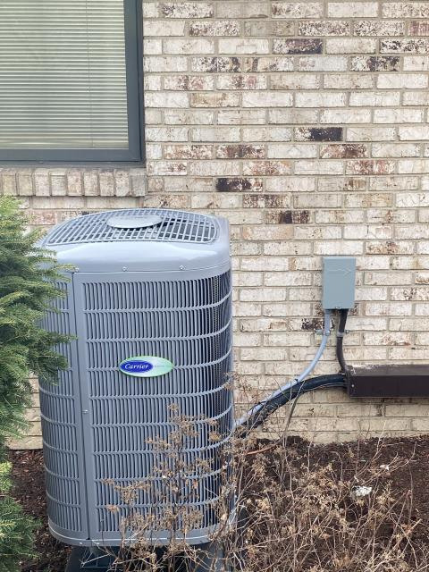 Dayton, OH - I installed a Five Star 3 Ton electric furnace and a 3 ton heat pump