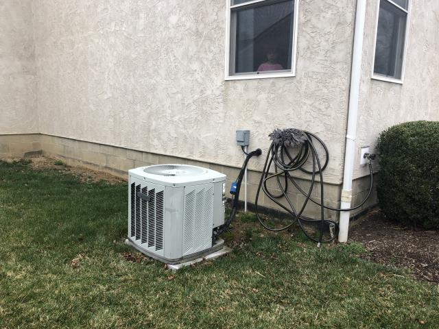 "Hilliard, OH - I completed an estimate on a Carrier ""Infinity Series"" 80% 2 Stage Variable Speed 90,000 BTU Gas Furnace and a Carrier 13 SEER 4 Ton Air Conditioner."