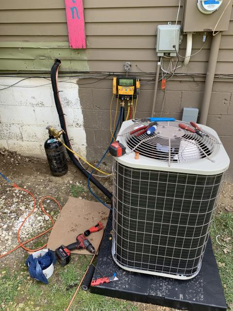 Delaware, OH - I installed a Five Star 13 SEER 3 Ton Air Conditioner to replace customer's old equipment. Everything operating properly at time of departure.