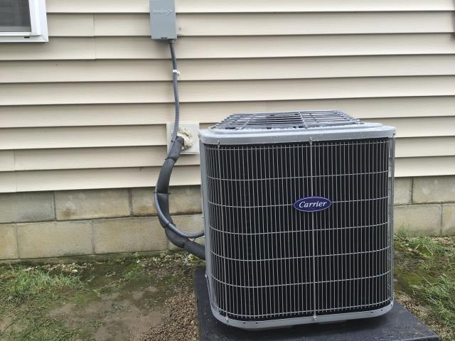 Blacklick, OH - I performed a tune up and safety check on a  Carrier 13 SEER 2.5 Ton Air Conditioner.  I found no issues and the everything was fully operational when I left.