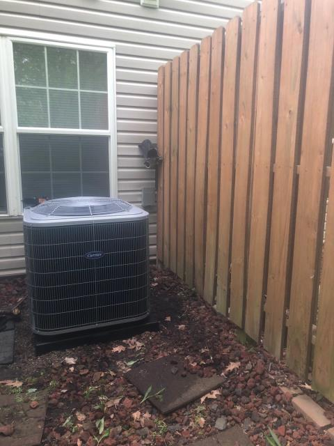 Blacklick, OH - I performed a tune up and safety check on a Carrier 16 SEER 2.5 Ton Air Conditioner.  I found no issues and the system was operating according to manufacturer's specifications upon departure.
