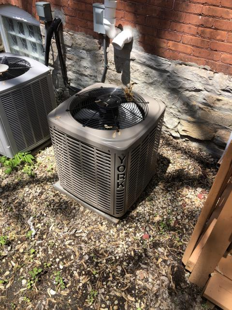 Columbus, OH - I performed a checkout/tune-up on two York air conditioners. Upon arrival I completed my checklist for both units, and seen no issues at this time. Upon departure both units are fully operational and cooling properly.