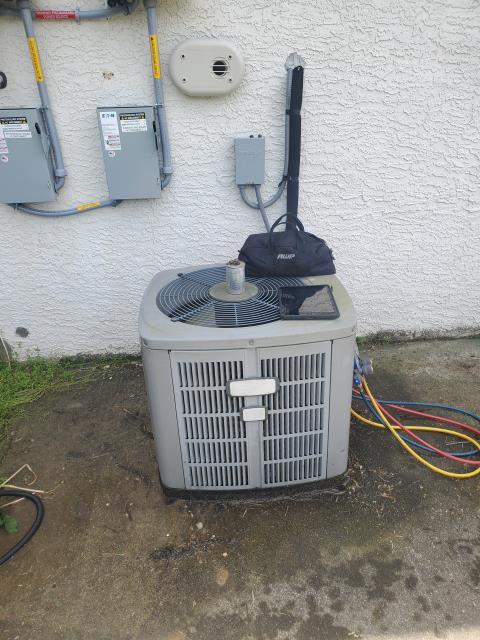 Alexandria, OH - I completed a diagnostic service call on an American Standard air conditioner. I determined that the capacitor needed to be replaced. Replaced, cycled, and the system is now cooling properly.