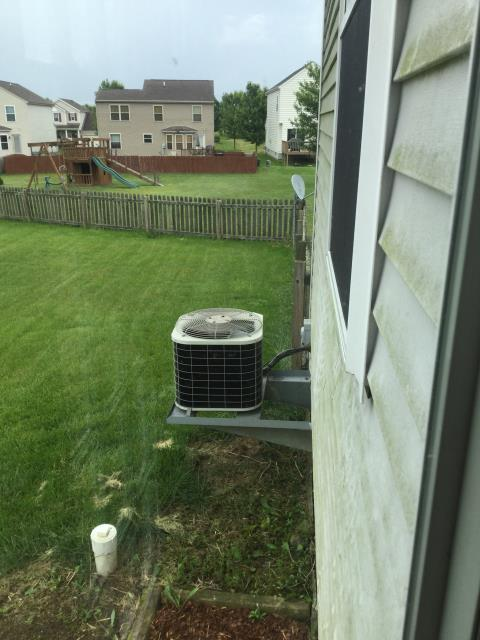 Pataskala, OH - I arrived on site to perform an inspection of Bryant air conditioning unit. During the inspection I found that the unit was not turning on due to the storm that happened the previous day. I replaced faulty wires and a burnt out capacitor. The unit was running at full functionality at the time of departure.