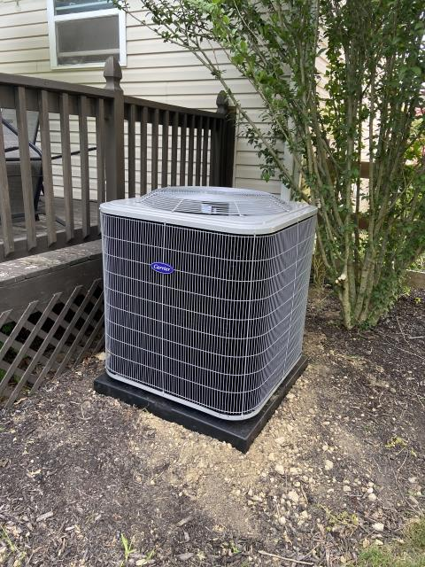Delaware, OH - I arrived on site to perform an installation of a Five Star 16 SEER 3.5 Ton Air Conditioner, as it was the best size for their home. The installation of the unit was a success and the unit was running at full functionality at the time of departure.