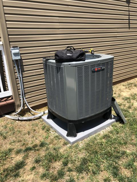Lancaster, OH - I arrived on site to perform an inspection on a Trane air conditioning unit. During the inspection I found that the unit had a bad TXV Electric module, which was causing the unit to trip at the low pressure mark. I called into the warehouse to order the part and will have it installed at a later date. The unit was partially operational at the time of departure.