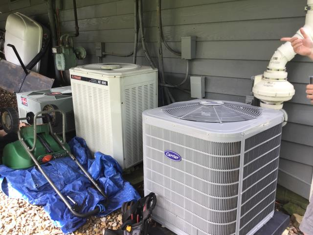 Granville, OH - I arrived on site to perform an inspection on a Carrier 13 SEER 3 Ton Air Conditioner Model that we installed. It was quoted to have irregular times to cool down. During the inspection I found that the system actually has a smaller cycling system, meaning that it may not need to work as hard to cool down the upstairs. The system was running at full functionality at the time of departure.