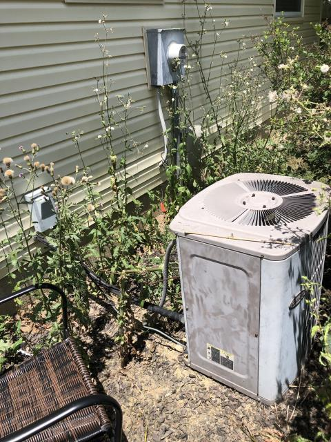 Galloway, OH - I arrived on site to perform an inspection on a Carrier air conditioning system. During the inspection I found that the unit's capacitor for the compressor had gone out, causing it to fail. I replaced the capacitor and the unit was running at full functionality at the time of departure.