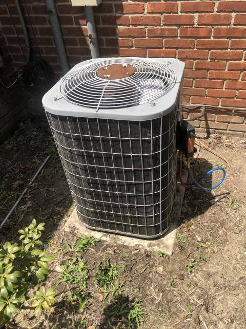 Whitehall, OH - I arrived on site to perform an inspection on a Bryant air conditioning unit. During the inspection I found that the unit's capacitor had blown out and the compressor was wearing out. The customer opted to replaced the capacitor and they will hold off on the compressor for now. The unit was running as intended at the time of departure.