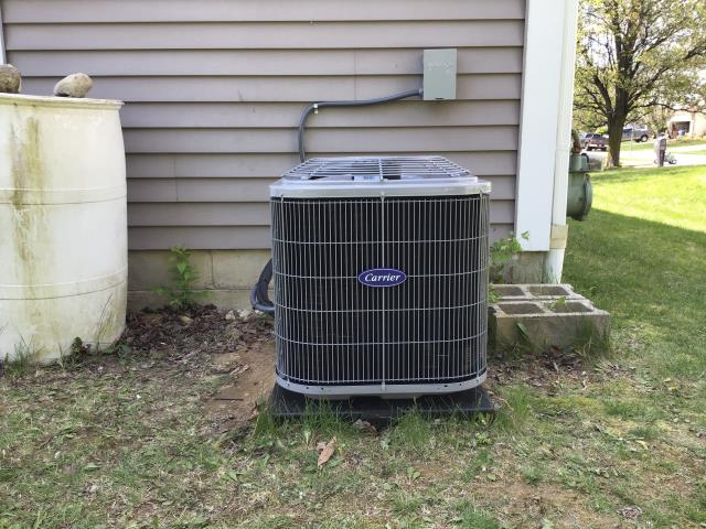 Galloway, OH - I arrived on site to perform an inspection of a Carrier 13 SEER 2 Ton Air Conditioner that we installed. During the inspection I found that the unit's wiring was not connected properly. I connected the wires with a wire nut and the unit was running at full functionality at the time of departure.