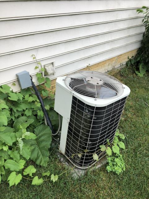 Groveport, OH - I arrived on site to perform an inspection on a Bryant air conditioning unit. During the inspection I found that the unit's low voltage wires were removed from the unit, not providing power to the unit and making it unable to function properly. I reattached the wires and the unit was running at full functionality at the time of departure.