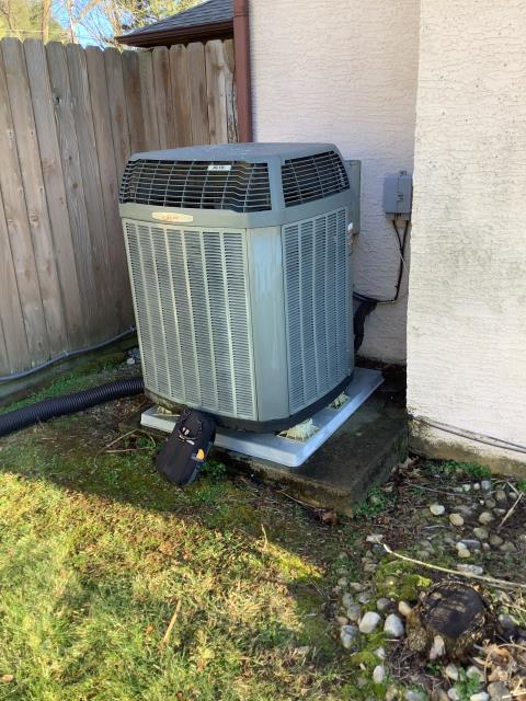 Westerville, OH - I arrived on site to perform an inspection of a Carrier air conditioning unit that we installed. During the installation I found that the unit's TXV had worn out. I called in to order a new TXV unit and it will be replaced once we received the part. Unit was not operational at the time of departure.