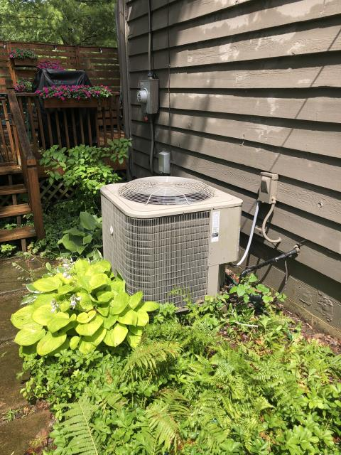 Westerville, OH - I arrived on site to perform an inspection on a Carrier air conditioning unit. During the inspection I found that the capacitor was bad, causing the unit not to charge properly. I replaced the capacitor and the unit was running at full functionality at the time of departure.