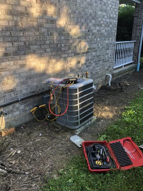 Lancaster, OH - I arrived on site to perform an inspection on a Concord air conditioning unit. During the inspection I found that the pressure switch was worn out, and needed to be replaced. I replaced the switch and the unit was running at full functionality at the time of departure.