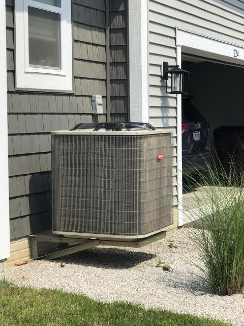 Galena, OH - I arrived on site to perform a tune up on the customers Bryant air conditioning unit. During the tune up I found that the unit was running low on R-22 Refrigerant. I filled the unit with R-22 and the unit was cooling at full functionality at the time of departure.