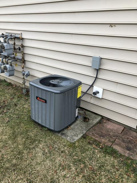 Blacklick, OH - I arrived on site to perform an tune up on a Amana air conditioning unit. The tune up was successful and the unit was running at full functionality at the time of departure.