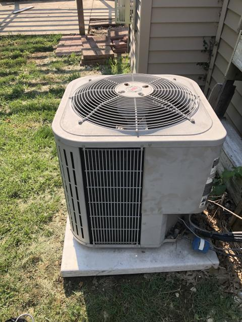 Canal Winchester, OH - I replaced the OEM Condenser Fan Motor, Capacitor & Fan Blade on a Bryant air conditioner. System operational at time of departure.