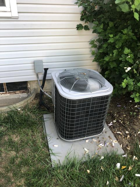 Columbus, OH - I completed scheduled maintenance spring tune up on a Tempstar air conditioner.  I visually inspected the furnace.  Checked voltage and amps. I inspected the evaporator coil.  I checked the temperature difference across the coil.   Checked refrigerant charge, voltages and amps.  I rinsed the condenser coils with water.  Cycled and monitored the system.  Operating normally at this time.
