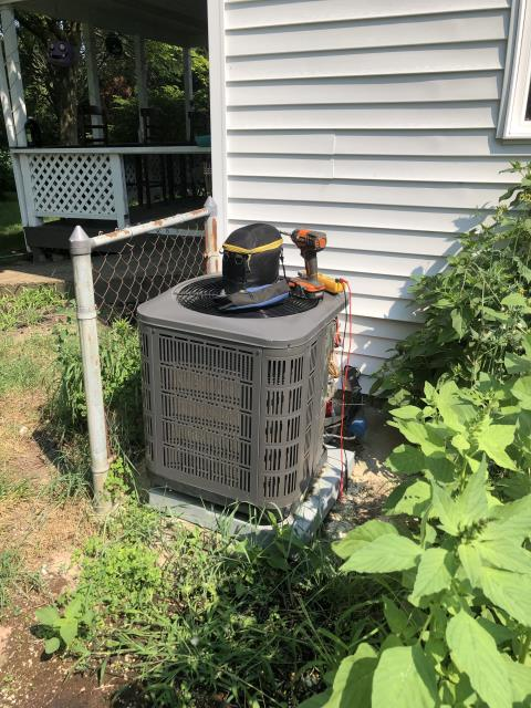 Columbus, OH - I completed a diagnostic on a Air temp air conditioner. I determined that due to age and cost of repairs both seen and unseen I recommend replacing both furnace and air conditioner. Install scheduled for following day