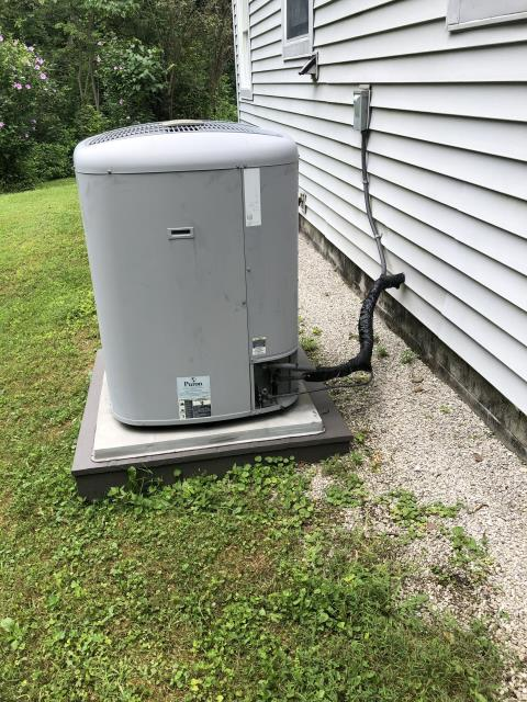 Galena, OH - I completed a diagnostic on a Carrier air conditioner. I determined that the blow motor module has failed and needs replaced. Part has been ordered, when part arrives repair will be scheduled.