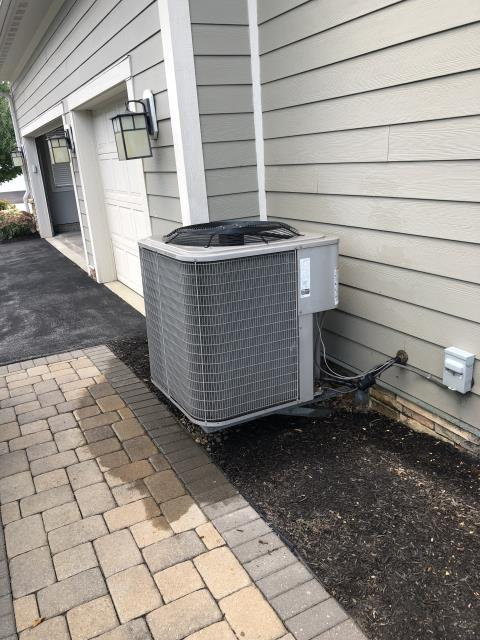 New Albany, OH - I performed a diagnostic on a Bryant AC unit. Upon inspection I found that the condenser system was dirty and the capacitor was bad. I replaced the capacitor and cleaned the condenser system. System is operational at this time.