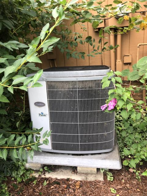 Westerville, OH - I completed a diagnostic on a Carrier air conditioner. I determined that the capacitor has failed. I replaced the capacitor and the system is operational