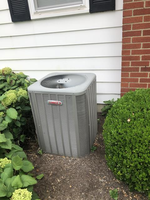 Westerville, OH - I completed a diagnostic on a Lennox air conditioner. I determined that the compressor is failing. I provided the customer with repair and replacement options.