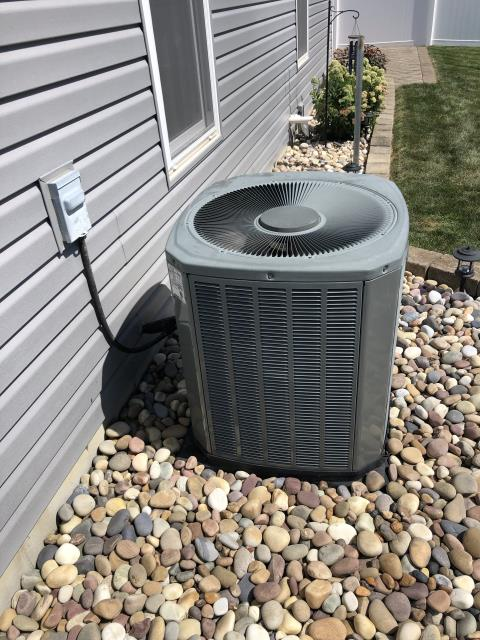 Hilliard, OH - I completed a diagnostic. Upon arrival customer stated the outdoor unit would not turn on, tech called for cooling and found that capacitor for condenser has failed reading 0/0 out of 35/5, with customer permission capacitors replaced, condenser is cleaned, and dirty filter has been removed, cycled system and confirm that system is cooling as best as it can but its only cooling with a 14° drop, explain to customer that system is beginning to lose its efficiency but it's cooling as best as it can at this time. System is cooling upon departure.