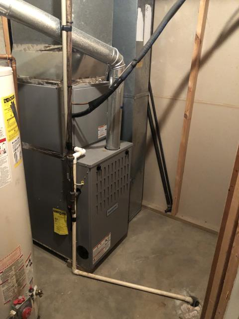 Westerville, OH - I completed a heating tune up on a Comfortmaker gas furnace. I visually inspected the unit. Checked voltages, amps and pressures. Completed combustion analysis. Cycled and monitored system. Operating normally at this time.