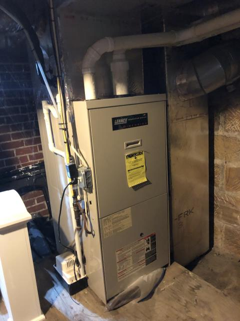 Lancaster, OH - I completed a diagnostic. I found the circuit board to the furnace is bad. I replaced the circuit board. System is operational upon departure.
