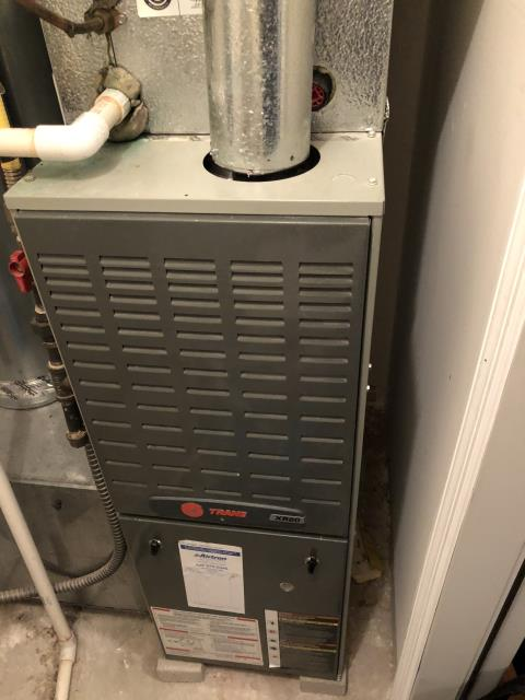 Lithopolis, OH - I completed a heating tune up on a Trane gas furnace.  I visually inspected the unit.  Checked voltages, amps and pressures.  Completed combustion analysis.  Cycled and monitored system.  Operating normally at this time.