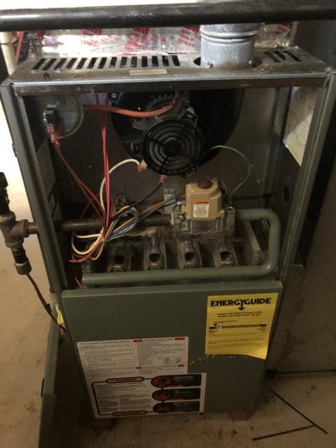 Hilliard, OH - I completed a heating safety tune up on a Rheem gas furnace.  I visually inspected the unit.  Checked voltages, amps and pressures.  Completed combustion analysis.  Cycled and monitored system.  Operating normally at this time.